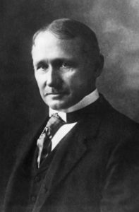 """Frederick Winslow Taylor. Schöpfer des """"Scientific Management"""" und der systematischen Trennung von Denken und Handeln."""