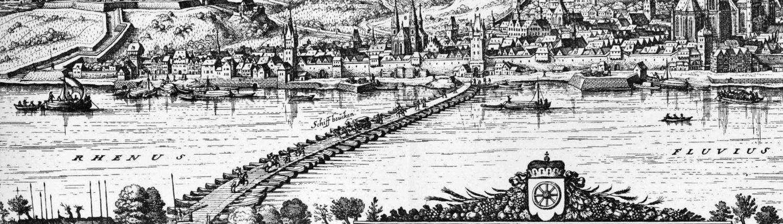 Mittelalterliche Ansicht Mainz