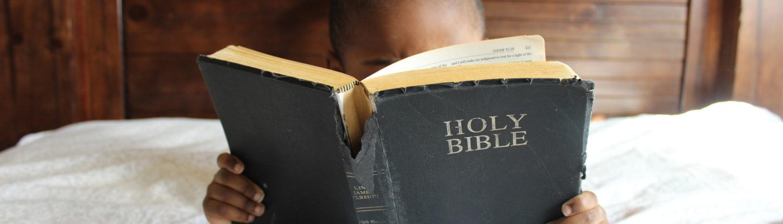 Menschenbild mit Bibel