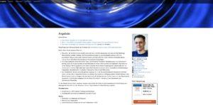 Website Christian Rüther