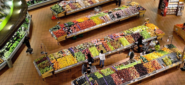 Supermarktstand