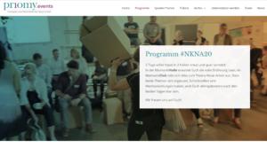 Eventwebsite #NKNA20