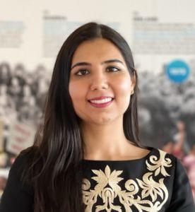 Arora Akanksha, Kandidatin als Generalsekretärin für die Vereinte Nationen