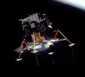 Bescheidenheit - Apollo 11 Mondlandefähre